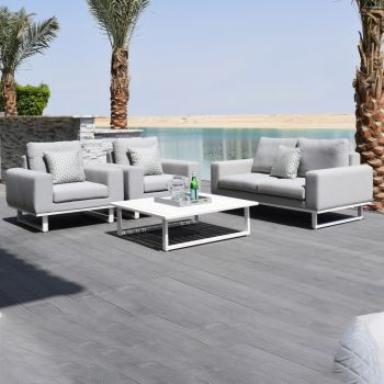 Outdoor Fabric Ethos 2 Seat Sofa Set