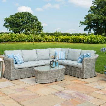 Maze Rattan - Oxford Large Corner Sofa Set
