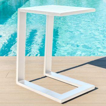 Outdoor Fabric Aluminium Side Table